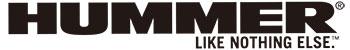 HUMMERのロゴ